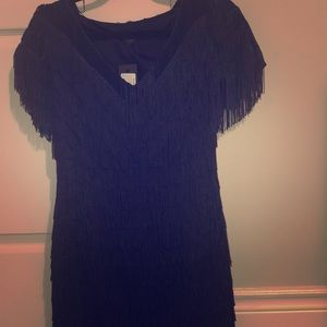 Genessa Fringe Dress
